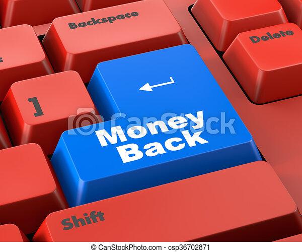 Money back - csp36702871