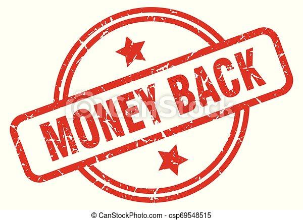 money back - csp69548515