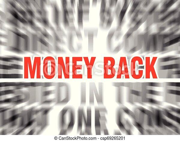 money back - csp69265201