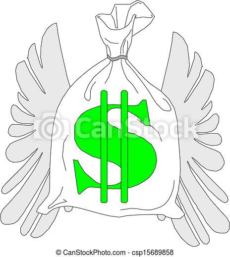 Money bag - csp15689858