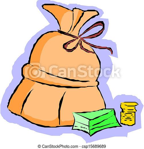 money bag - csp15689689