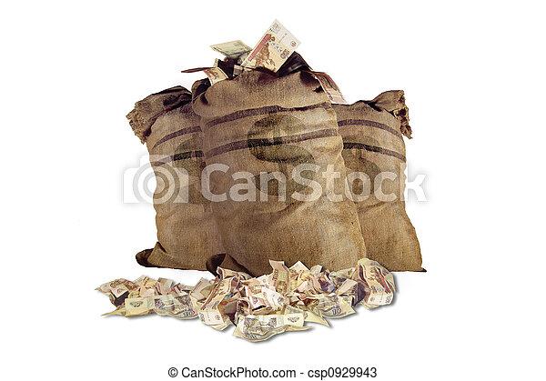Money bag - csp0929943