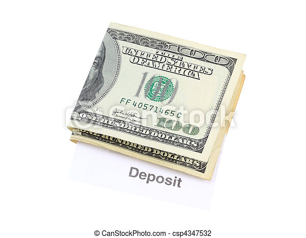 Money Deposit - csp4347532