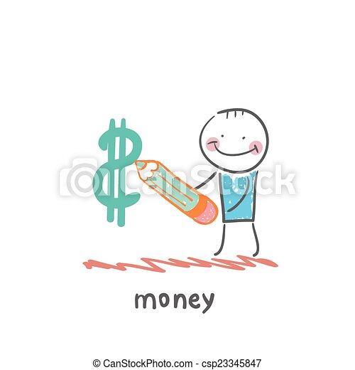 money - csp23345847