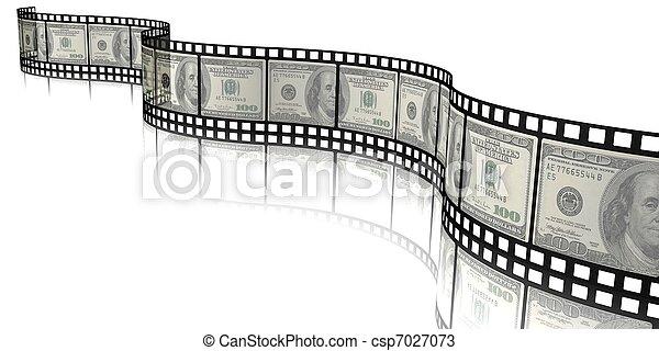 money film - csp7027073