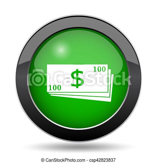 Money icon - csp42823837