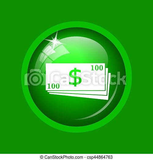 Money icon - csp44864763