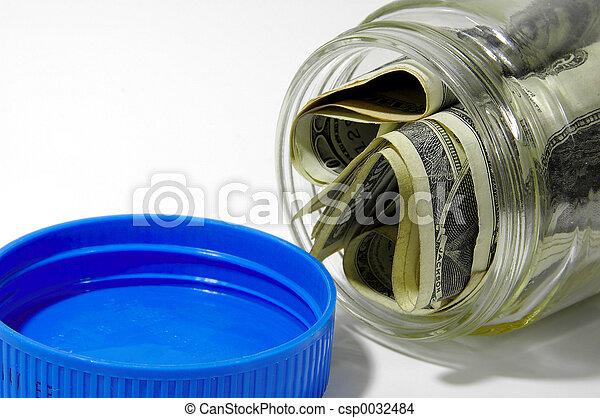 Money Jar 2 - csp0032484