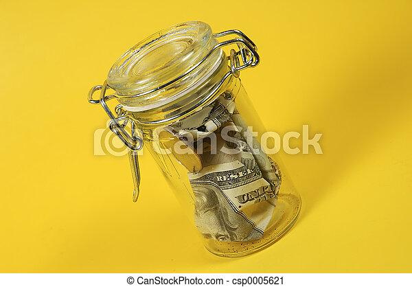 Money Jar - csp0005621