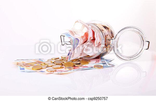 Money jar - csp9250757