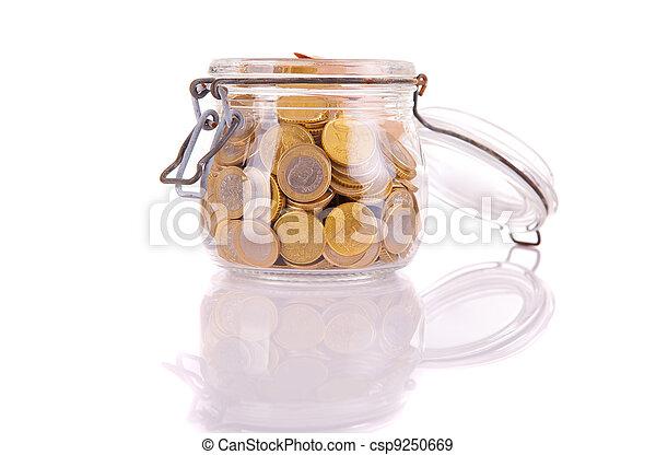 Money jar - csp9250669