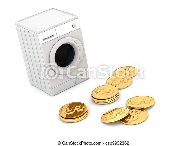 money laundering - csp9932362
