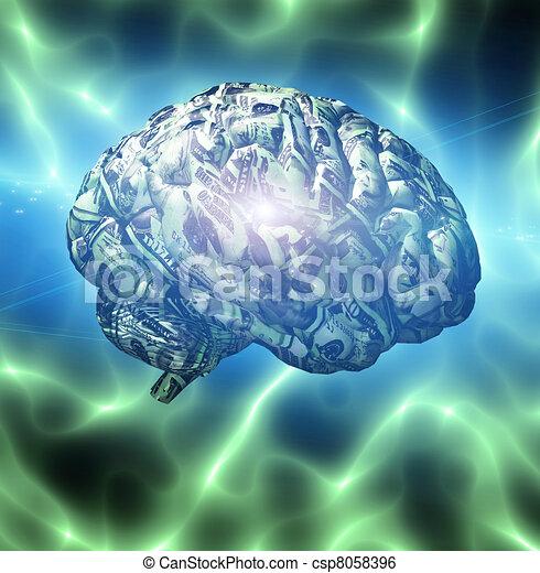 Money Mind - csp8058396
