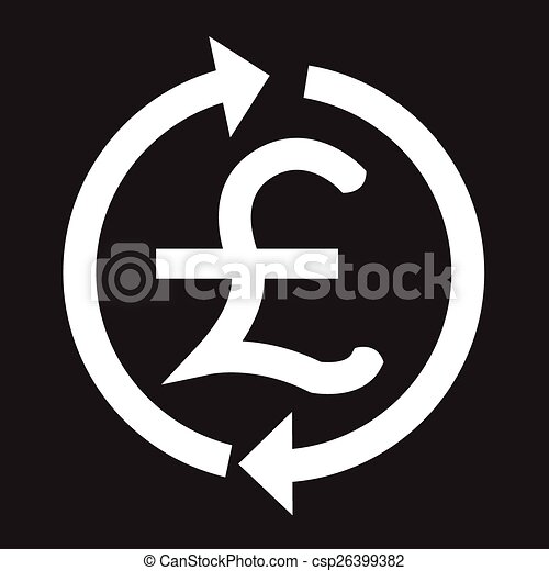 Money Pound Icon Gbp Currency Symbol