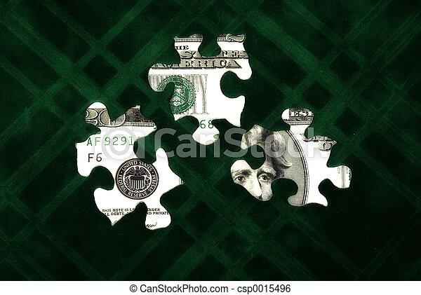 Money Puzzle - csp0015496