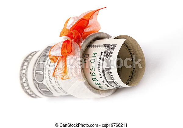 Money roll - csp19768211