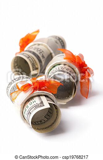 Money roll - csp19768217