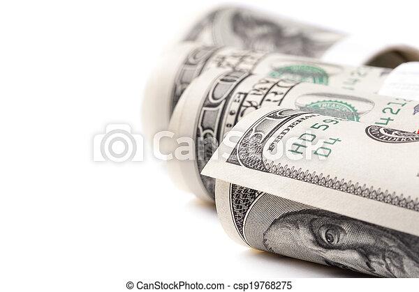 Money roll - csp19768275