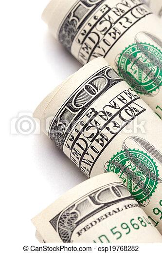 Money roll - csp19768282