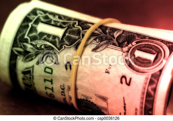 Money Roll - csp0036126