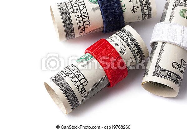 Money roll - csp19768260