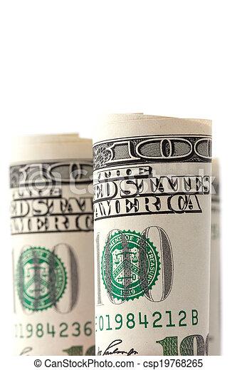 Money roll - csp19768265