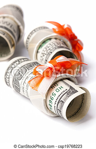 Money roll - csp19768223