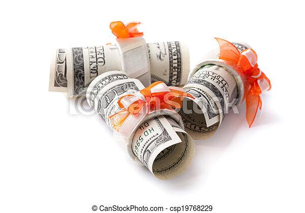 Money roll - csp19768229