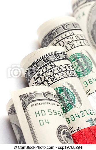 Money roll - csp19768294