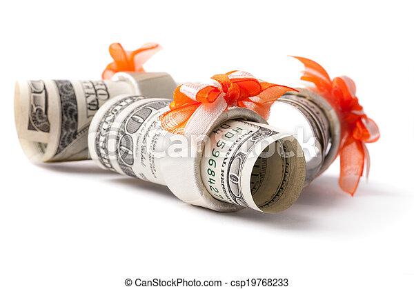 Money roll - csp19768233