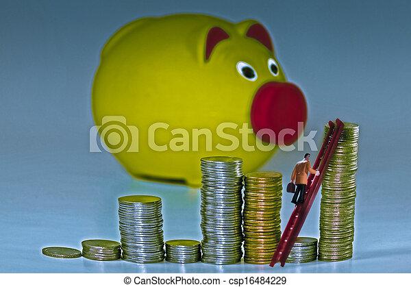 Money Saving Concept - csp16484229