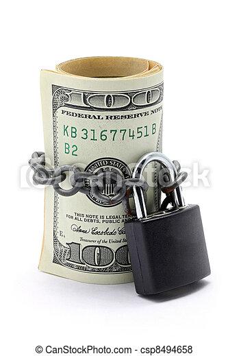 Money Saving Insurance Concept - csp8494658