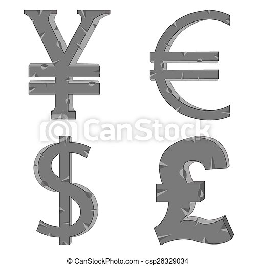 The Money Signs And Symbols Of The Different Countries