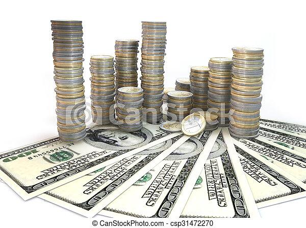 Money Stack - csp31472270