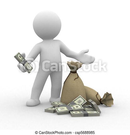 Money - csp5688985