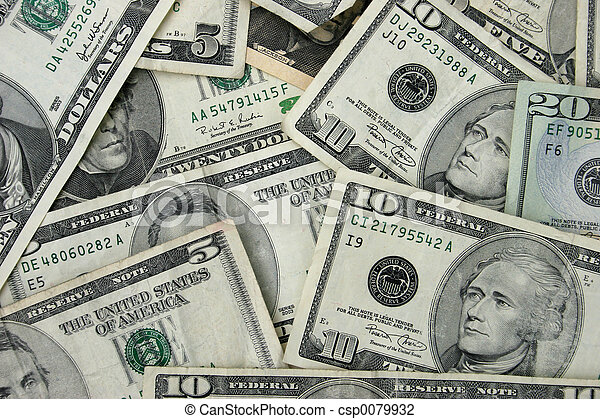 Money - csp0079932
