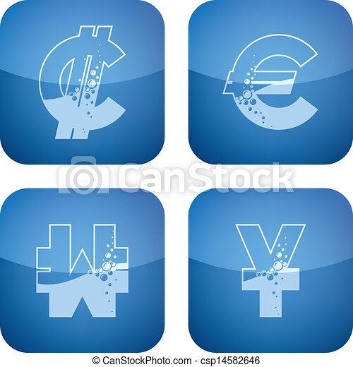 Money symbols - csp14582646
