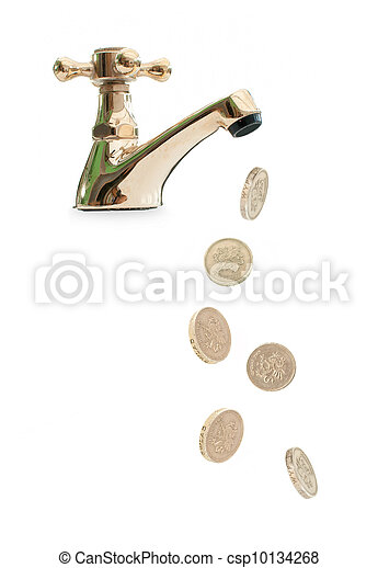 Money tap - csp10134268