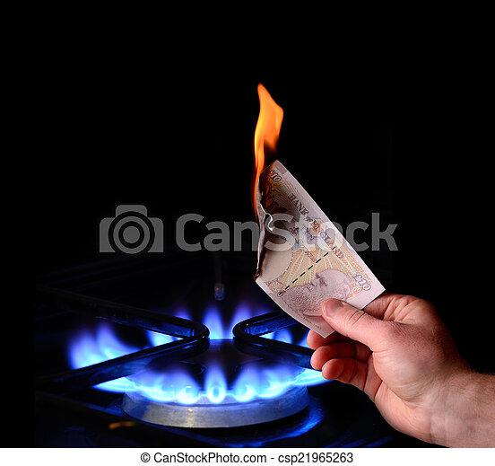 money to burn - csp21965263