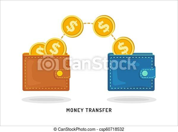 Transfer cryptocurrencies between wallet