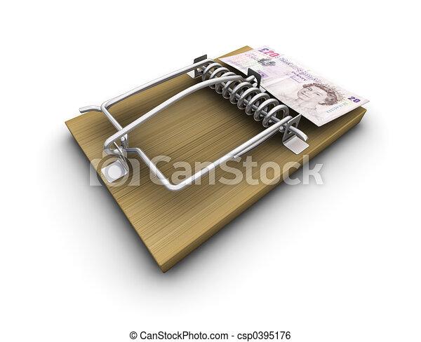 Money trap - csp0395176