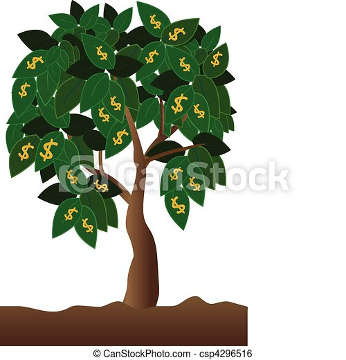 money tree clip art vector search drawings and graphics images rh canstockphoto com money tree clipart images