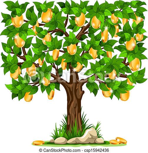 Money tree - csp15942436