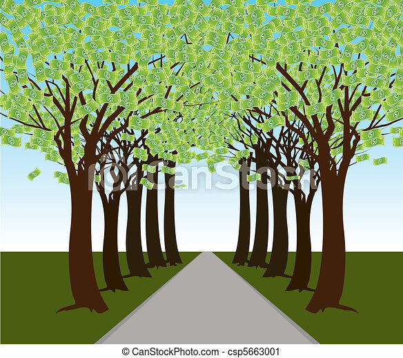 Money Tree Forest Path - csp5663001