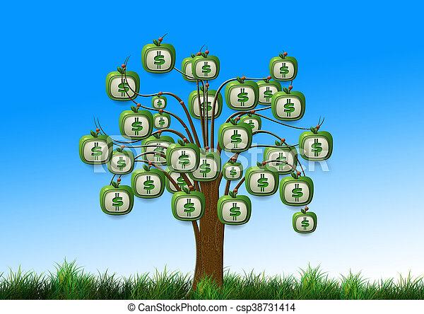 money tree - csp38731414