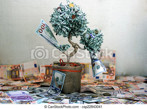 Money tree - csp22843041