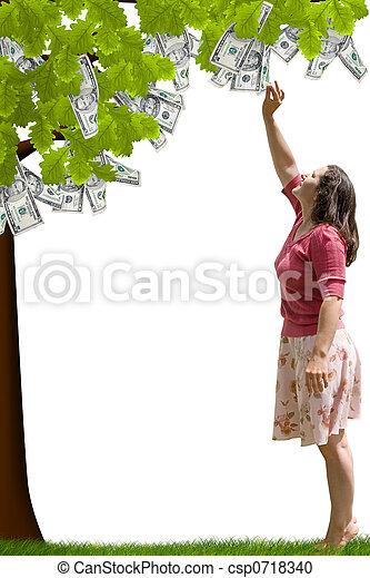 Money Tree - csp0718340