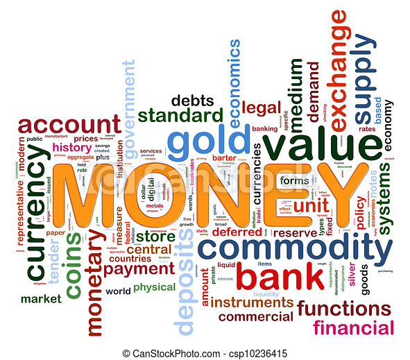 money word tags illustration of wordcloud representing words