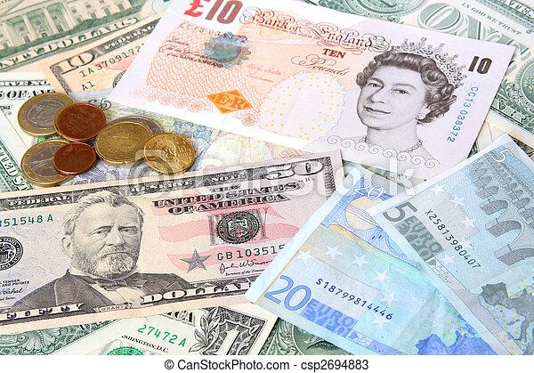 Money. World currencies - csp2694883