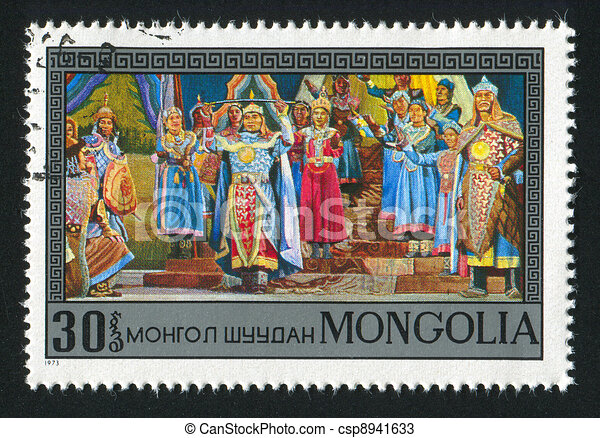 Mongolia - csp8941633